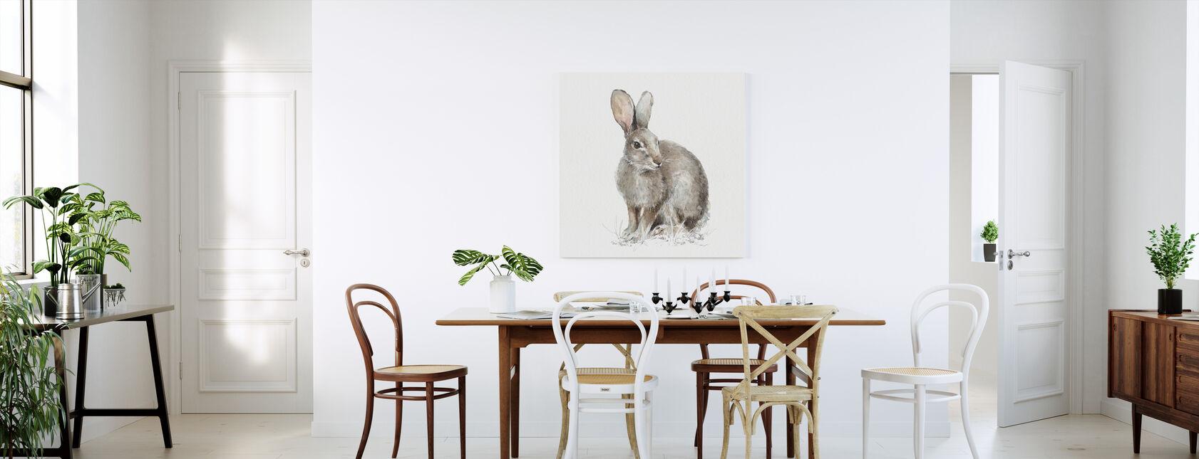 Forest Friends VIII - Canvas print - Kitchen