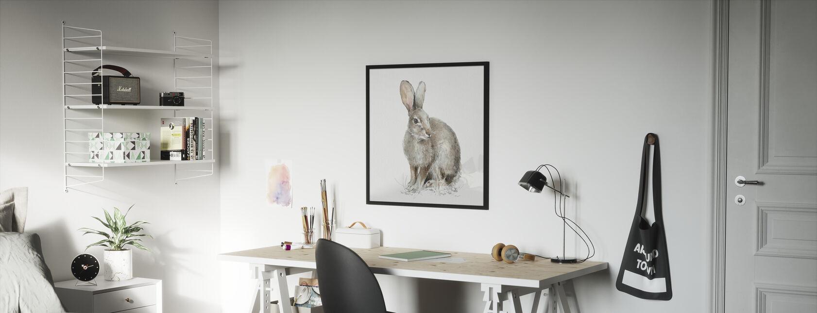 Forest Friends VIII - Framed print - Kids Room