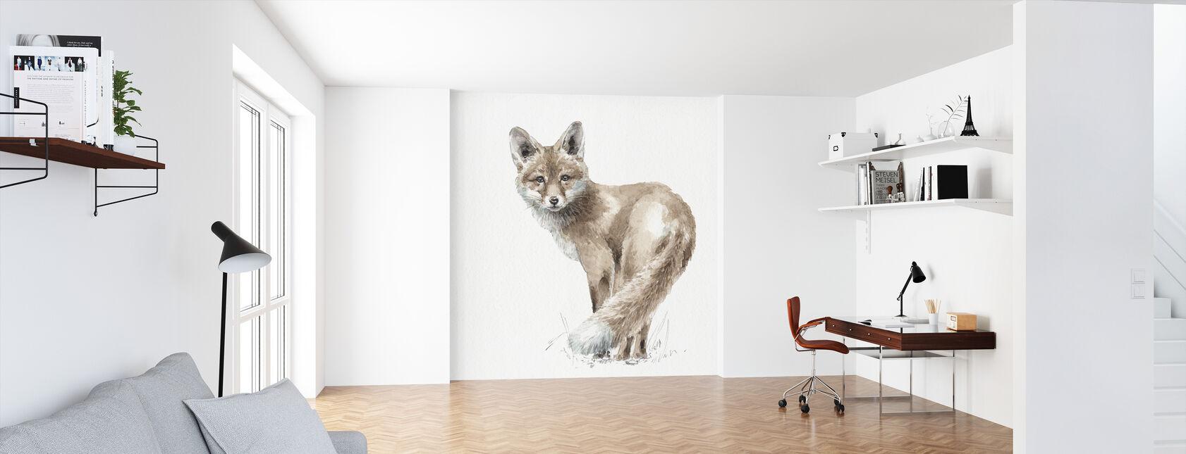 Forest Friends XI - Wallpaper - Office