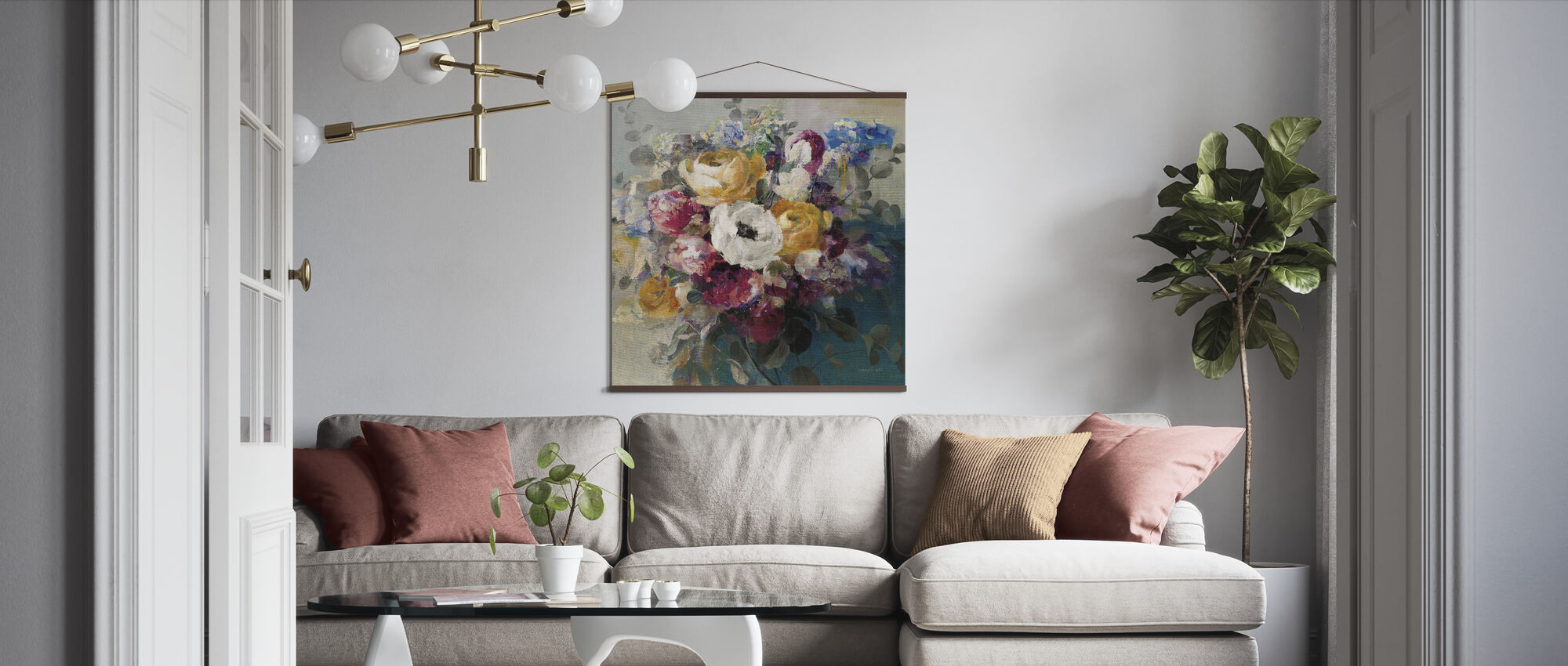 Fall Bouquet - Poster - Living Room