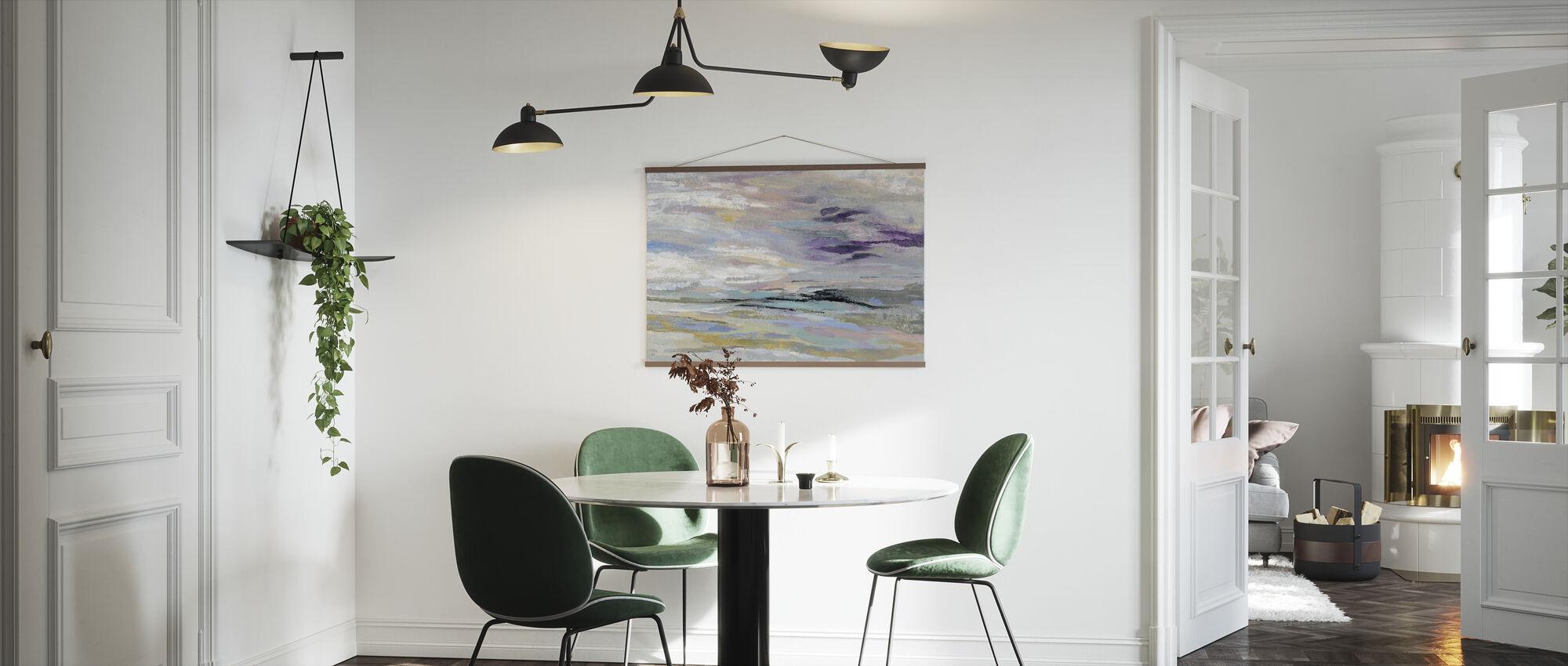 Sea and Sky - Poster - Kitchen