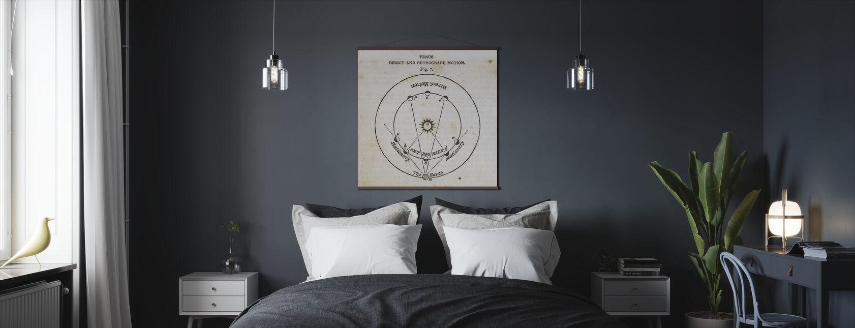 Geographie des Himmels IX - Poster - Schlafzimmer