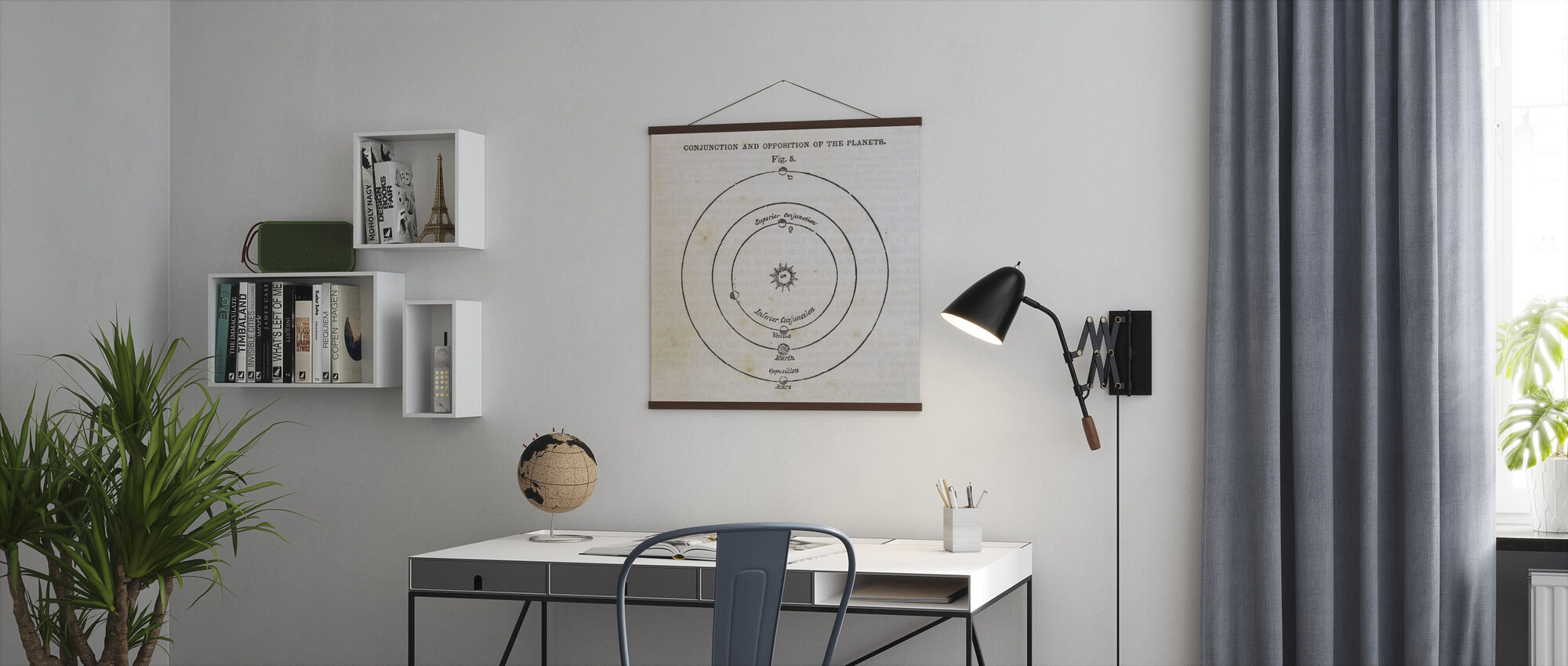 Geography of the Heavens X - Poster - Office