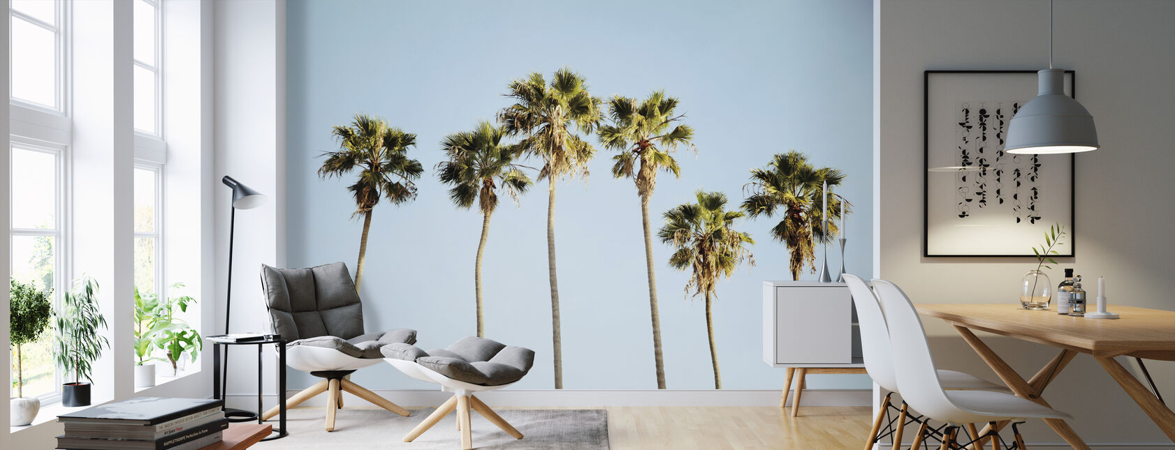 Endless Summer V - Wallpaper - Living Room