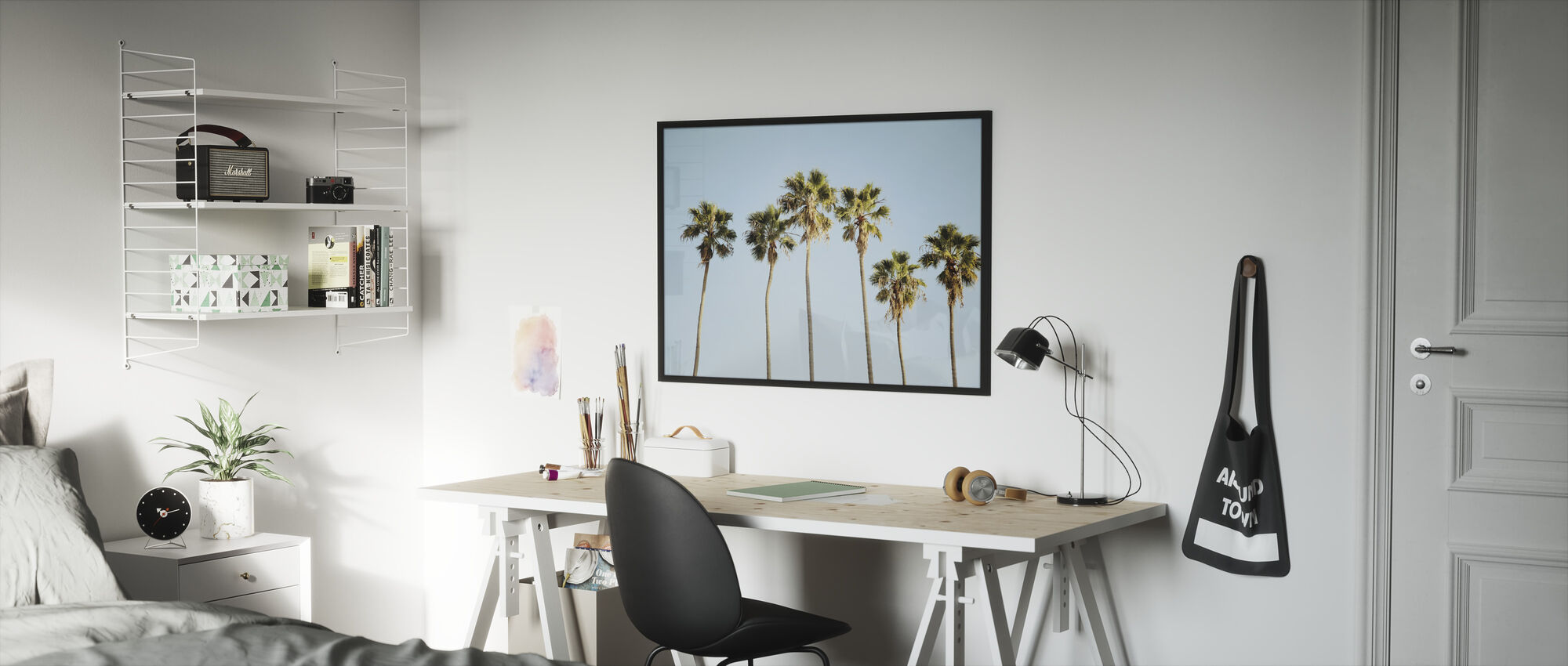 Endless Summer V - Framed print - Kids Room