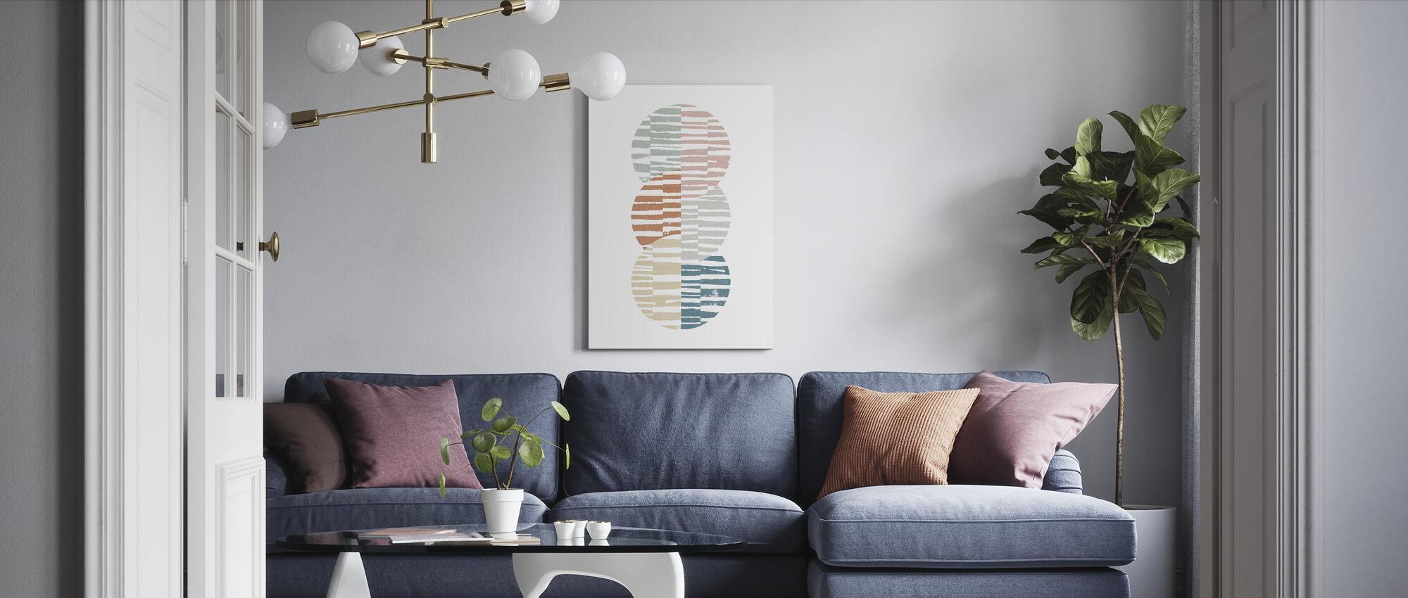 Meditate I - Canvas print - Living Room