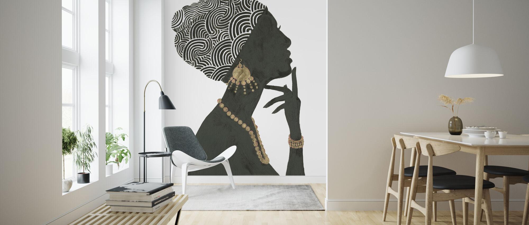 Graceful Majesty I - Wallpaper - Living Room