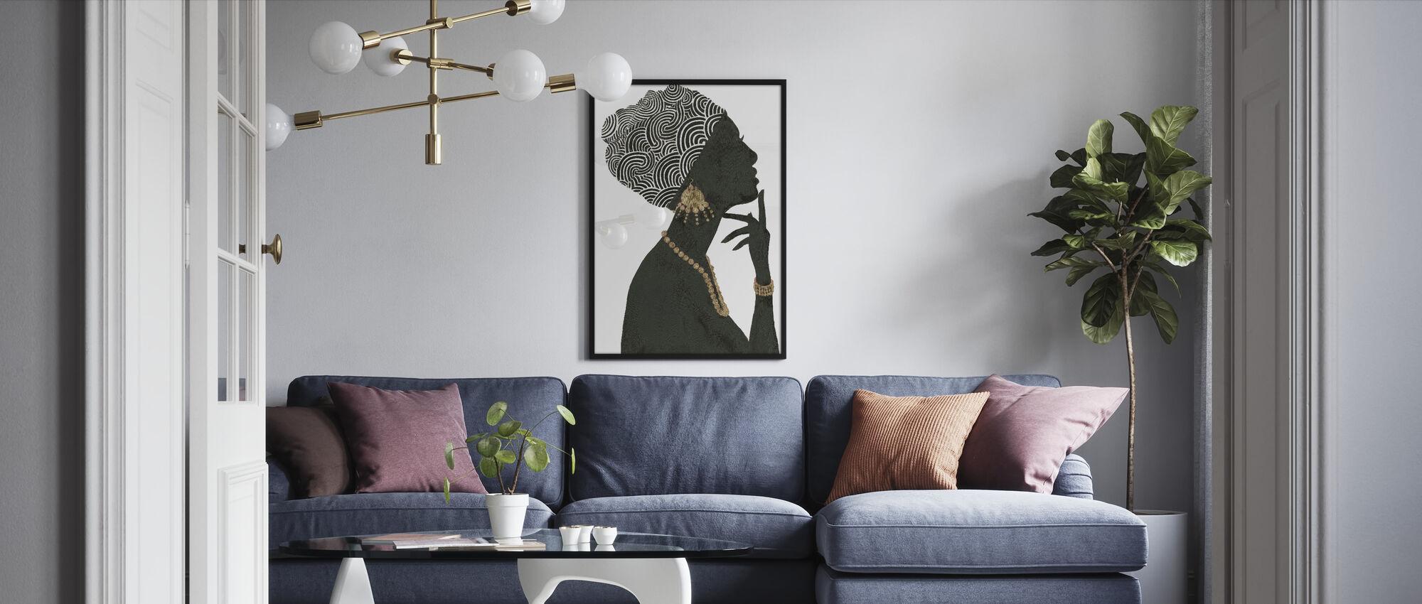 Graceful Majesty I - Framed print - Living Room