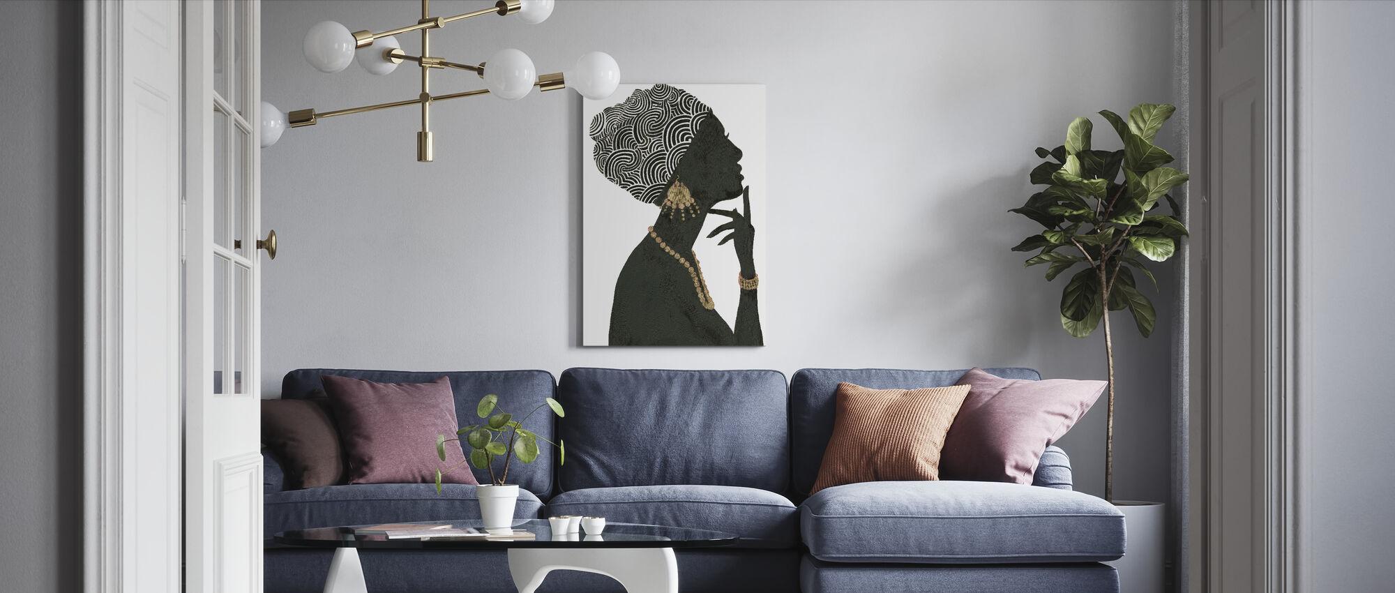 Anmutige Majestät I - Leinwandbild - Wohnzimmer