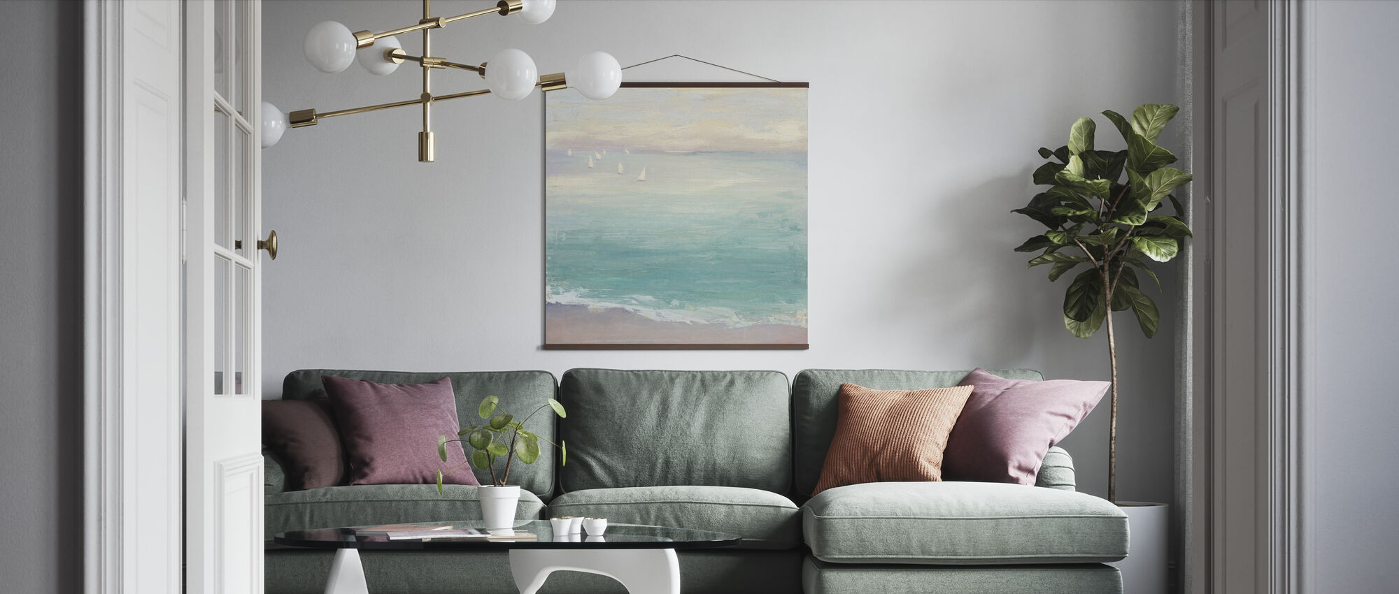 From the Shore - Poster - Living Room