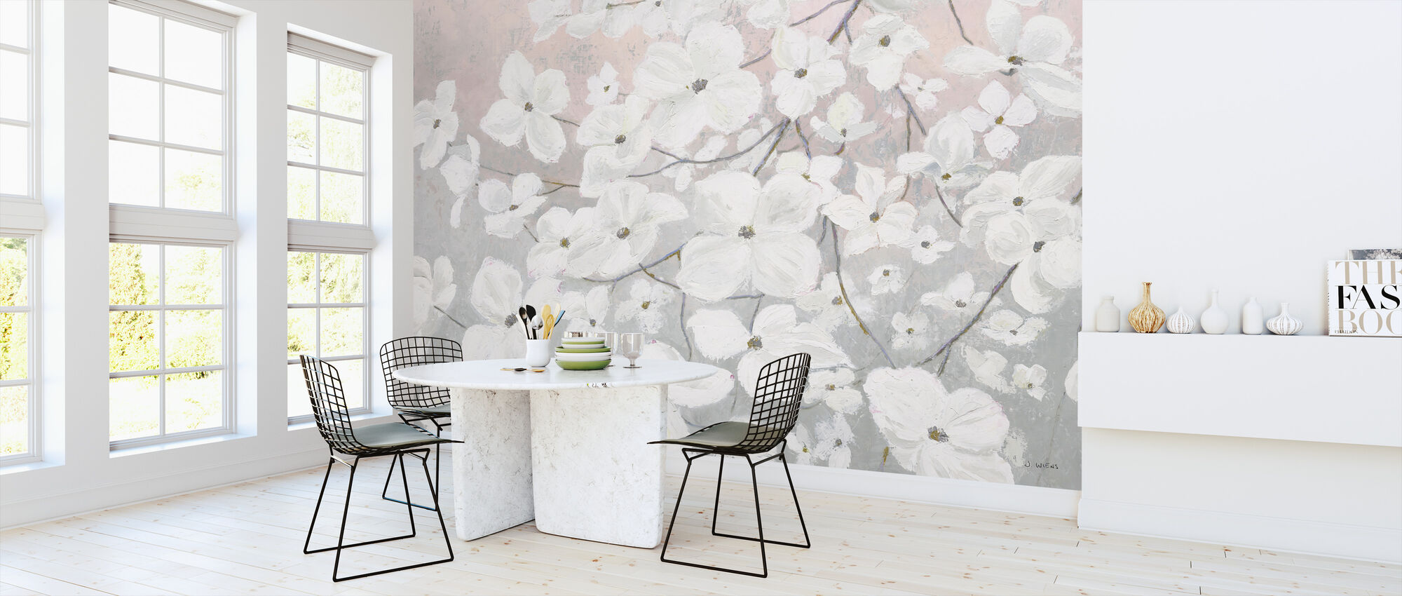 Bringing in Blossoms - Wallpaper - Kitchen