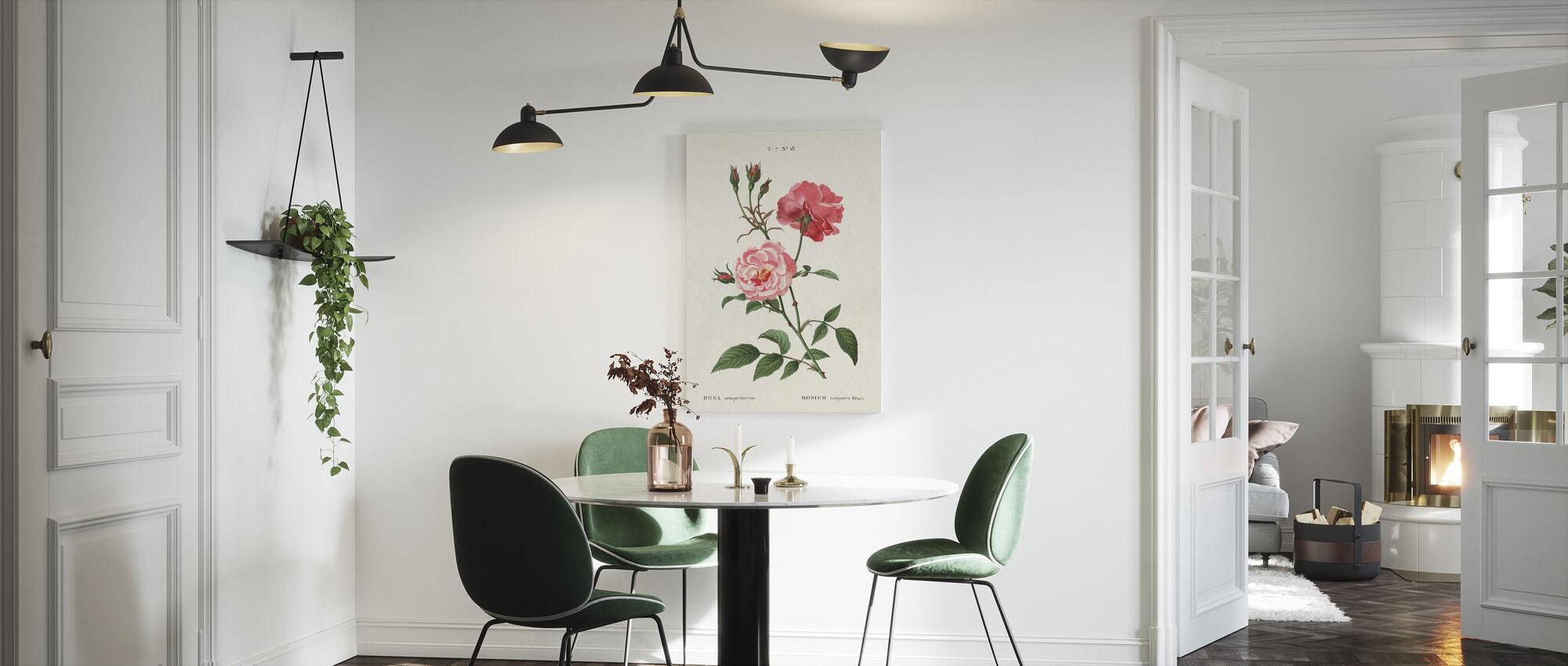 Rosa - Canvas print - Kitchen