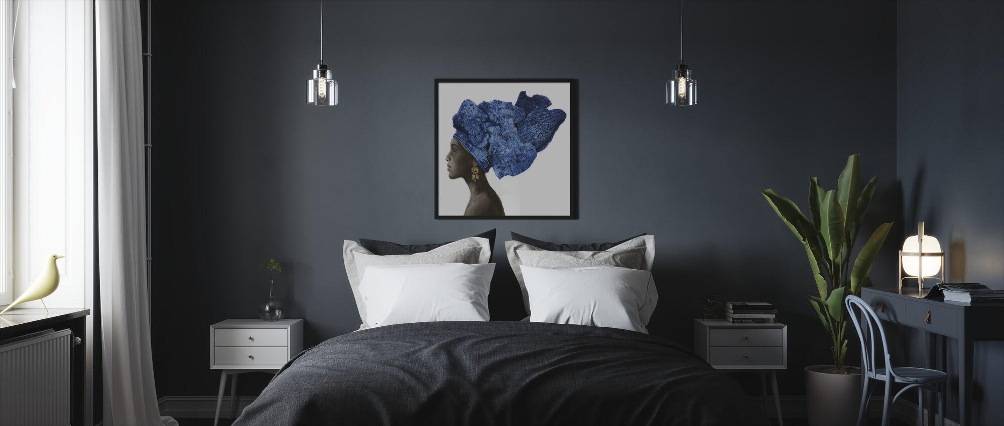 Pure stijl - Ingelijste print - Slaapkamer