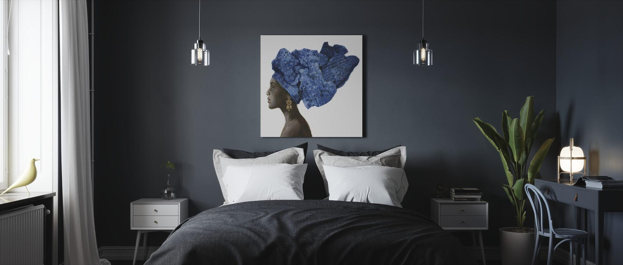 Pure stijl - Canvas print - Slaapkamer