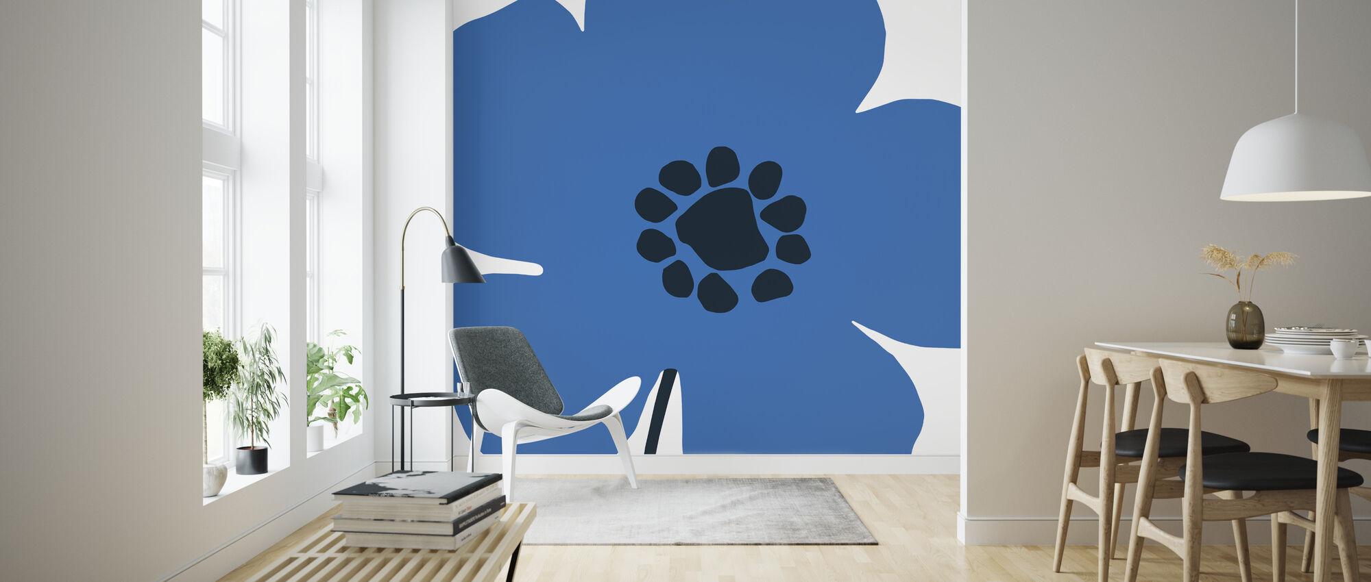 Pop Art Floral I - Wallpaper - Living Room
