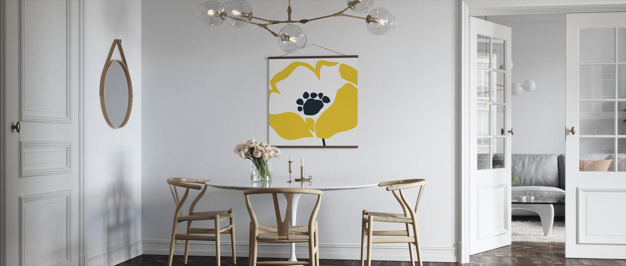 Pop Art Floral II - Poster - Keuken