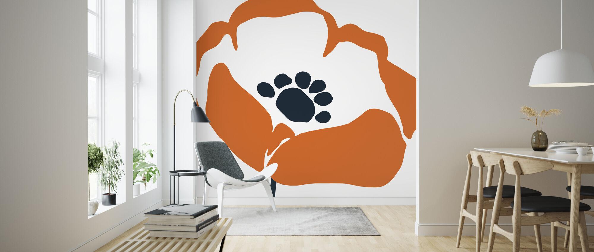Pop Art Floral III - Wallpaper - Living Room