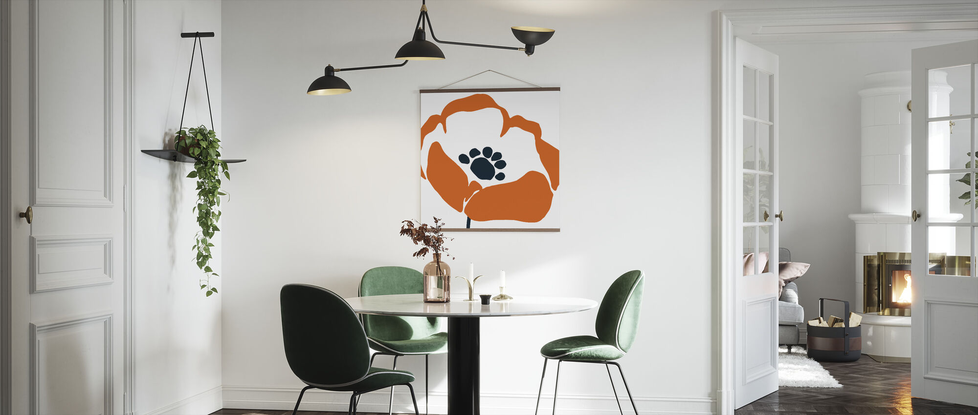 Pop Art Floral III - Poster - Kitchen