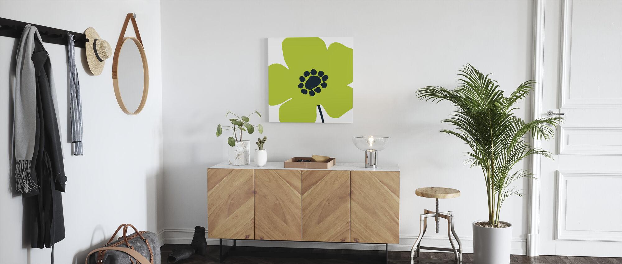 Pop Art Floral IV - Canvas print - Hallway