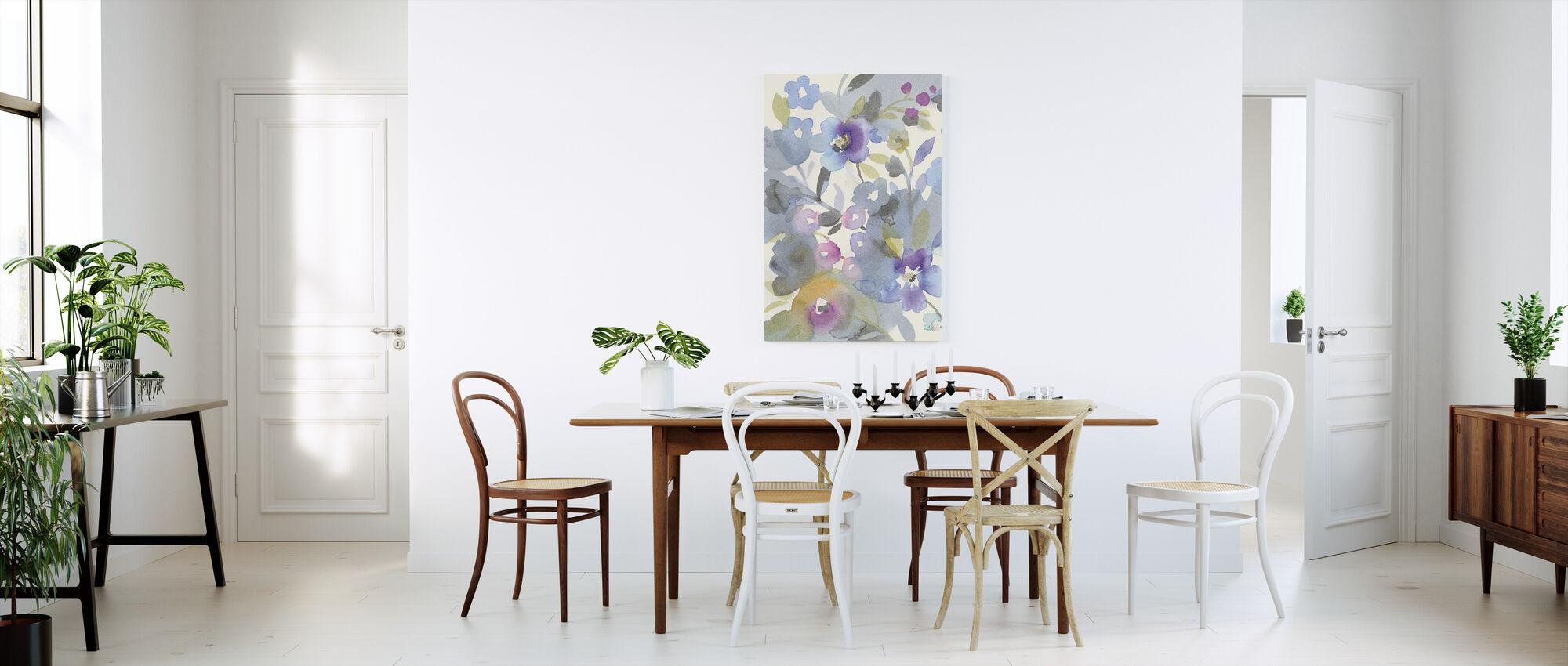Jewel Garden II - Canvas print - Kitchen