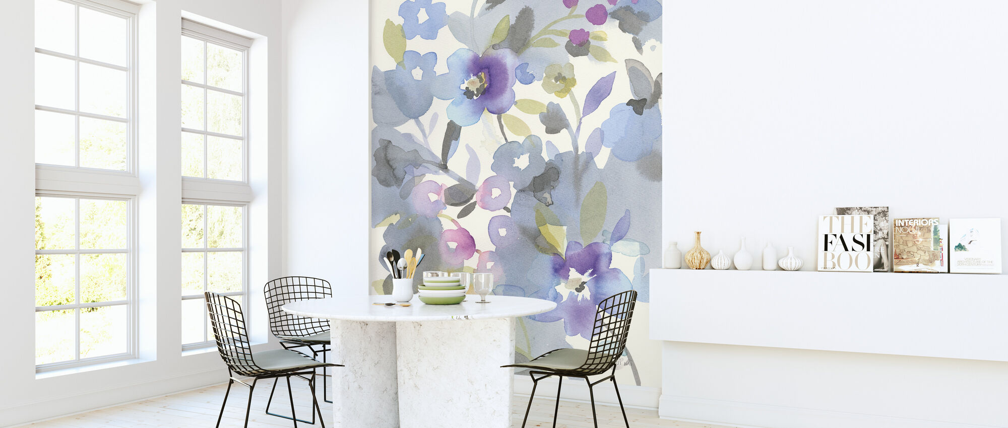Jewel Garden II - Wallpaper - Kitchen
