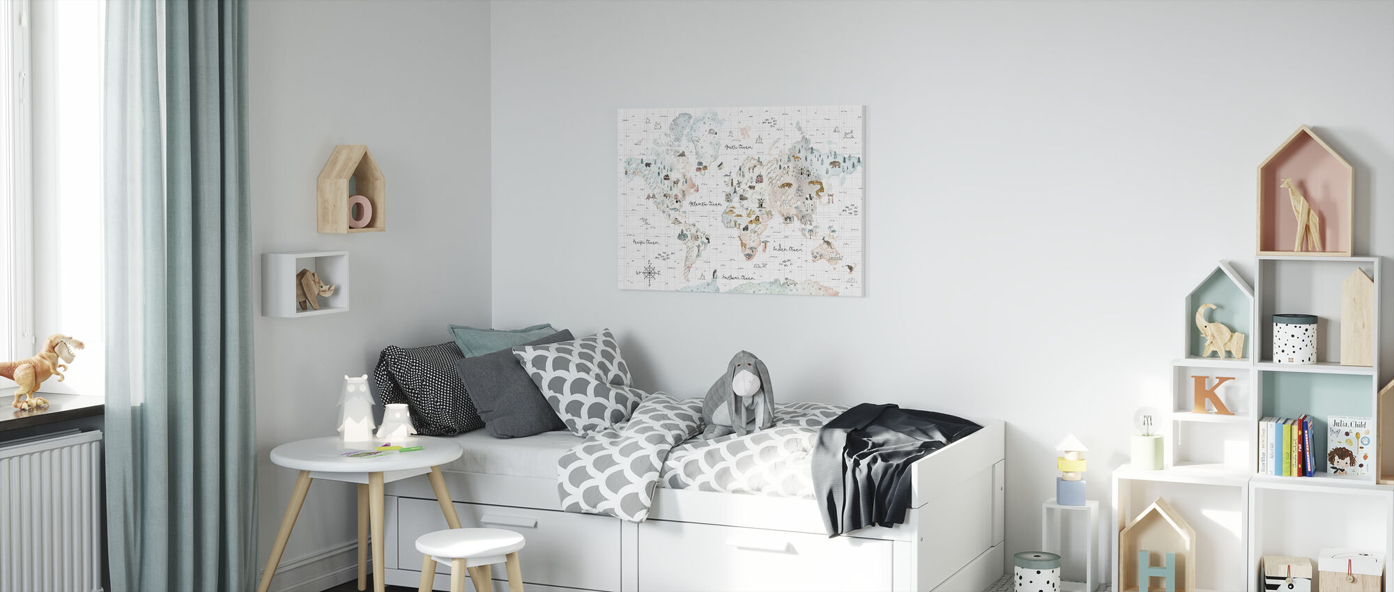 World Traveler I - Canvas print - Kids Room