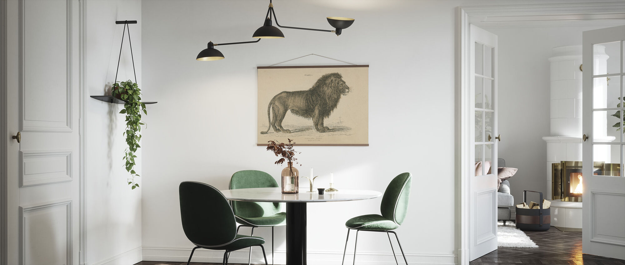 Vintage Lion - Poster - Kitchen