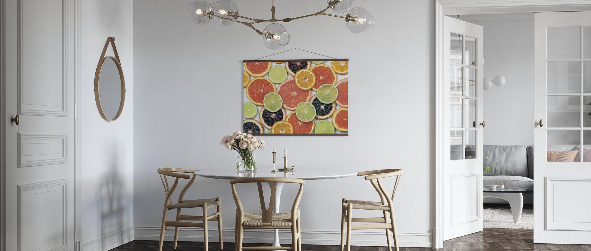 Sunny Citrus IV - Poster - Kitchen