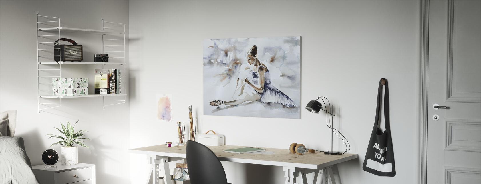 Jurk repetitie - Canvas print - Kinderkamer