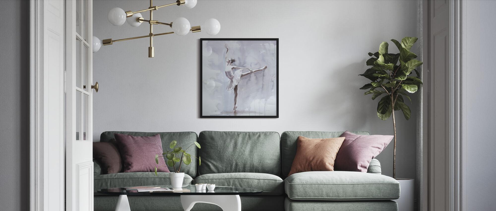Tumma arabeski - Kehystetty kuva - Olohuone