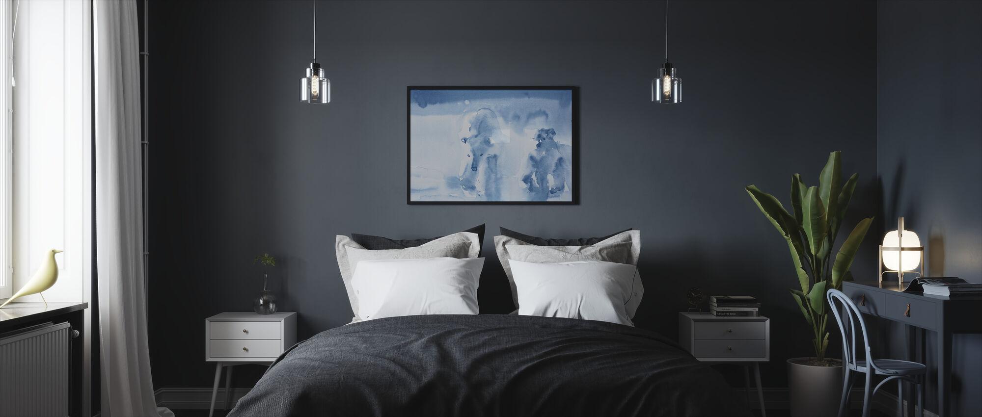 Ice Bears - Framed print - Bedroom