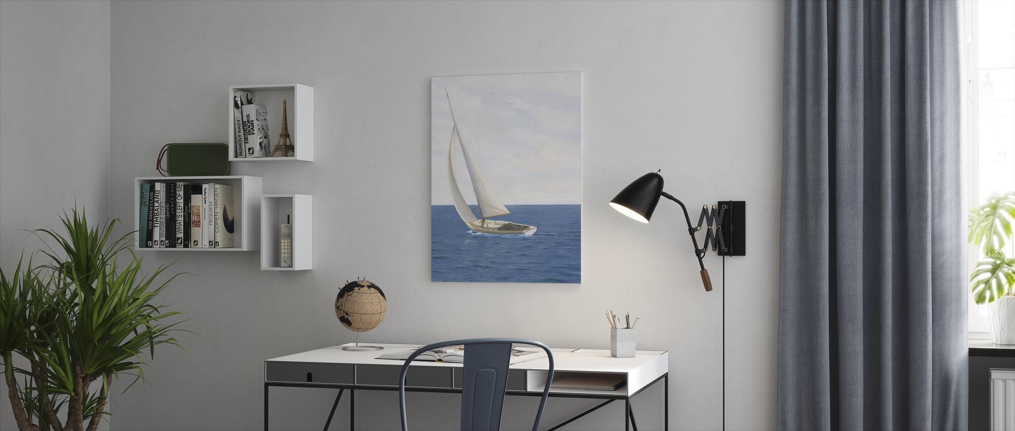 Un día en el mar II - Lienzo - Oficina