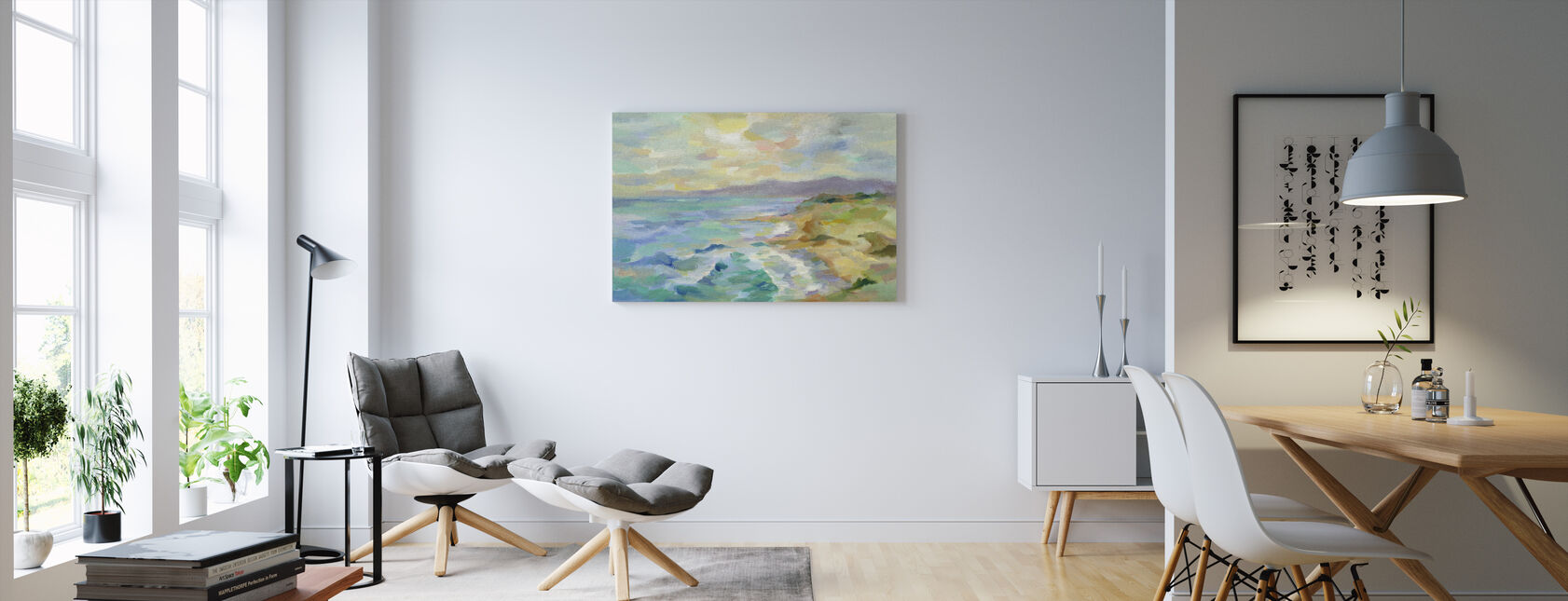 Dunes by the Sea - Canvas print - Living Room