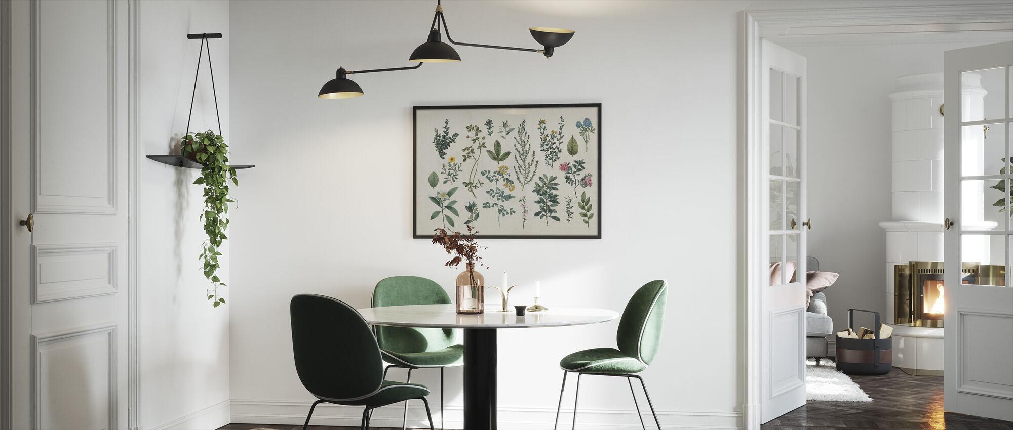 Victorian Garden III - Framed print - Kitchen
