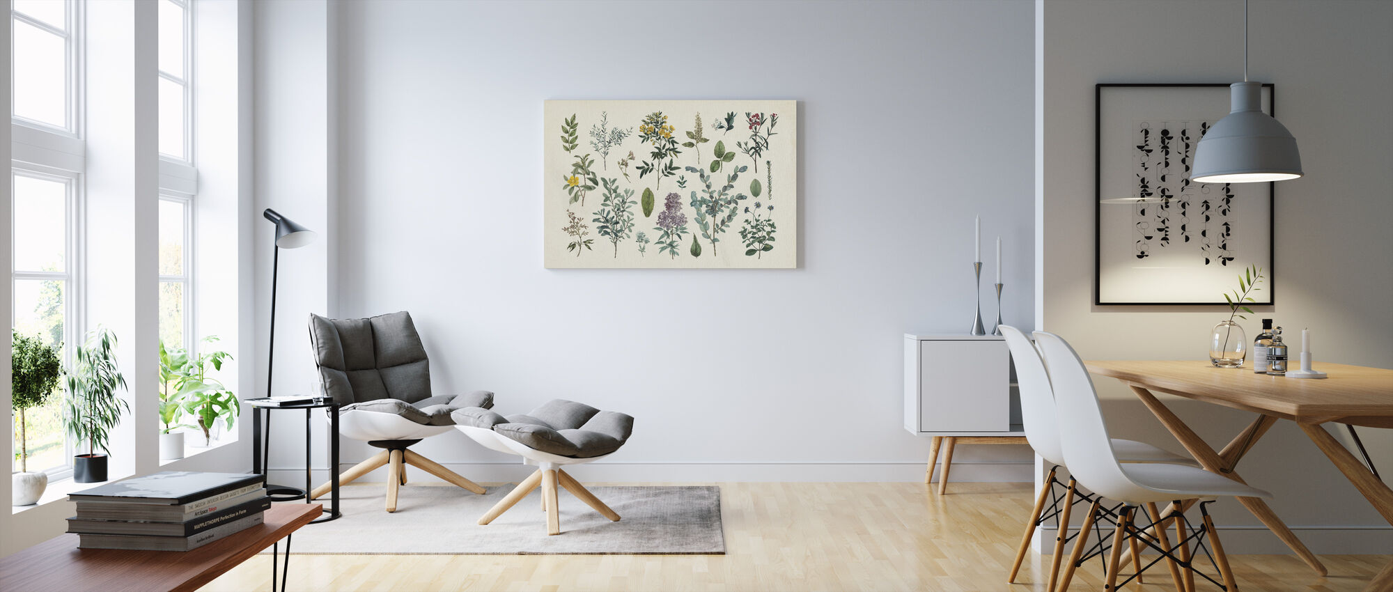 Victorian Garden IV - Canvas print - Living Room