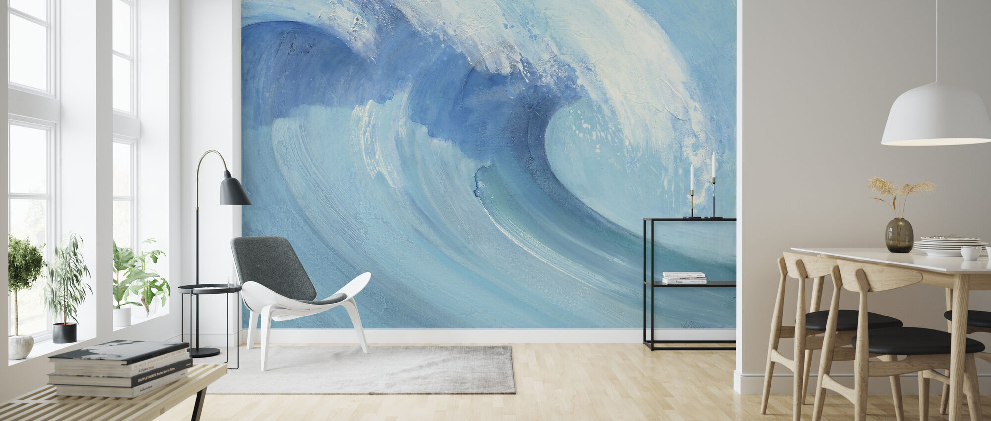 Catch a Wave - Wallpaper - Living Room