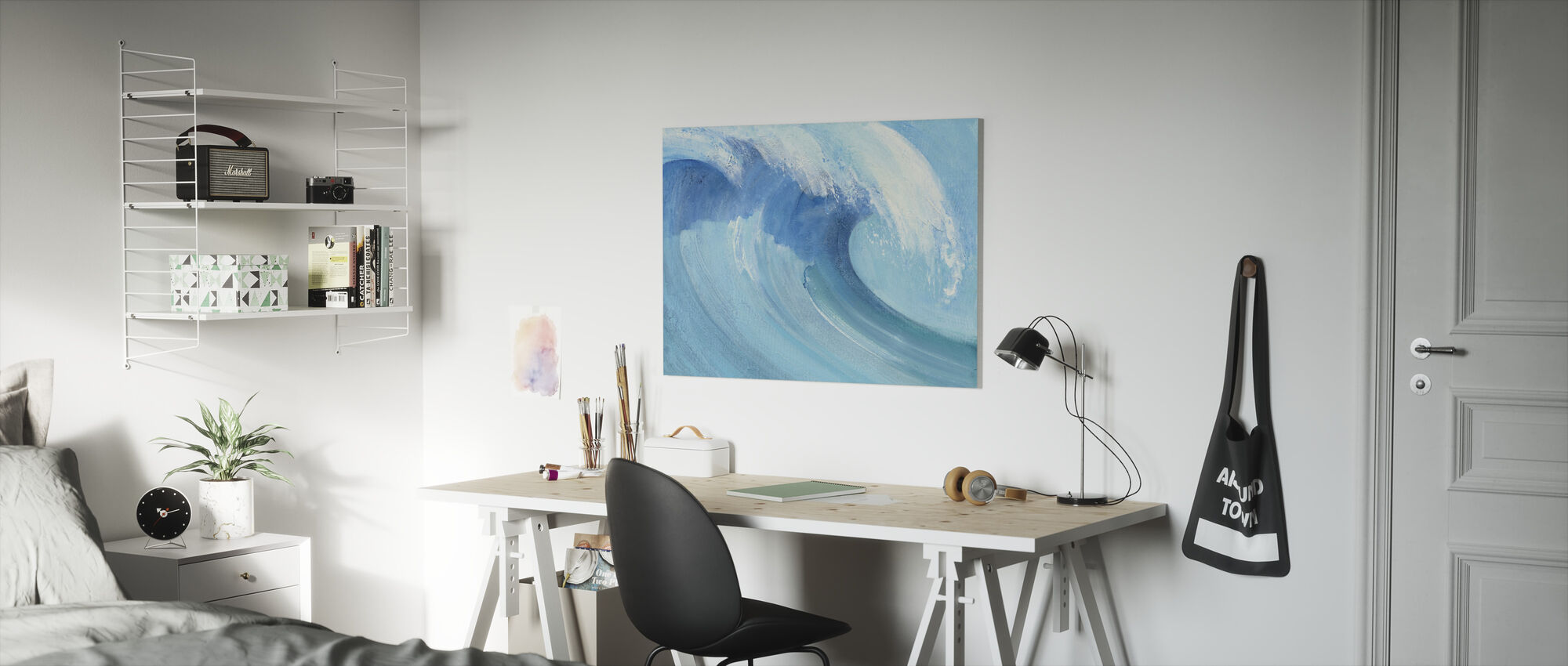 Fang en bølge - Lerretsbilde - Barnerom