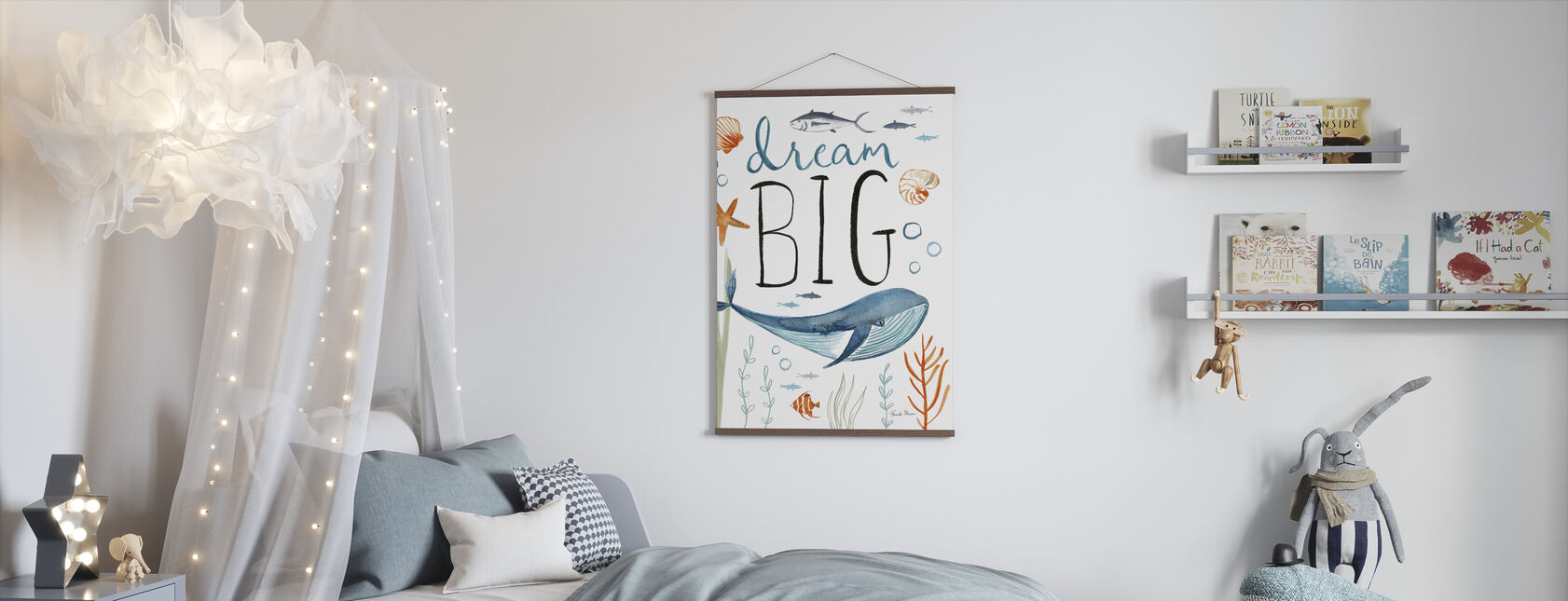 Whale Tale I - Poster - Kids Room