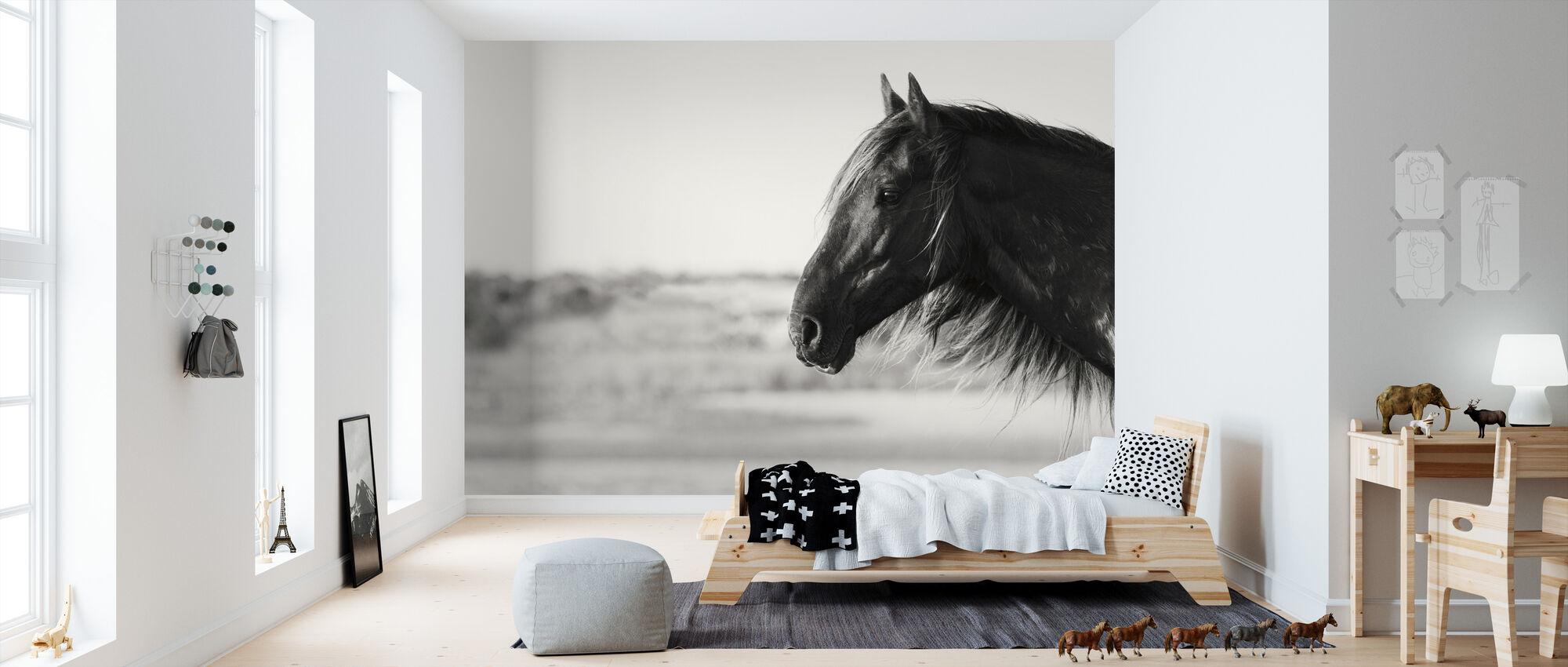 Pretty Girl - Wallpaper - Kids Room