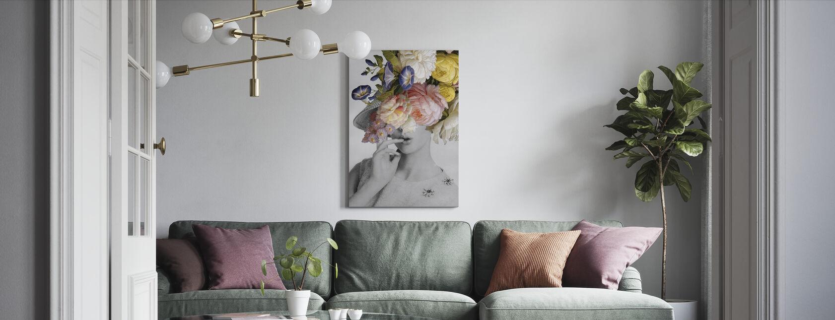 Garden Party I - Canvas print - Living Room