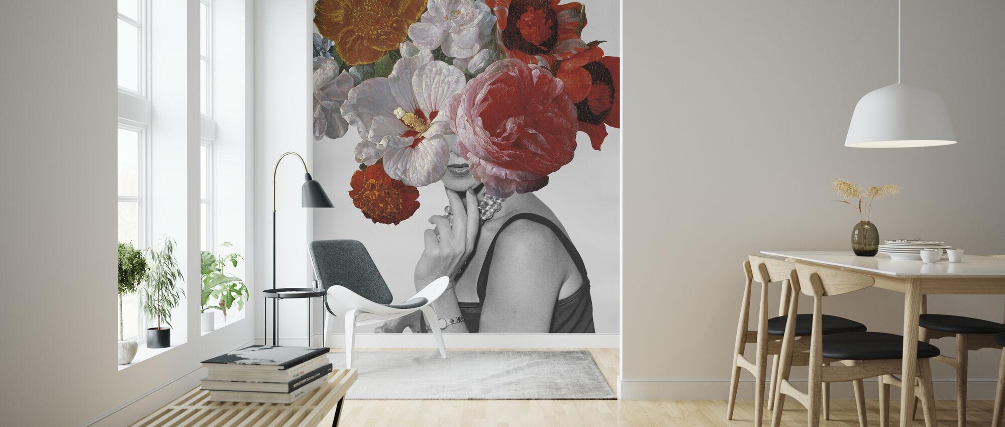 Garden Party II - Wallpaper - Living Room