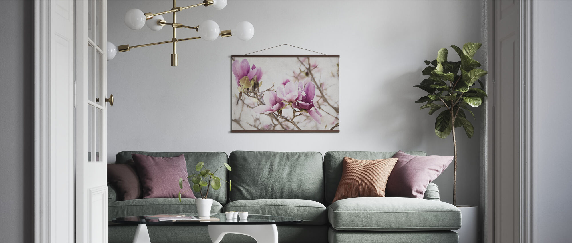 Spring is In the Air III - Poster - Living Room