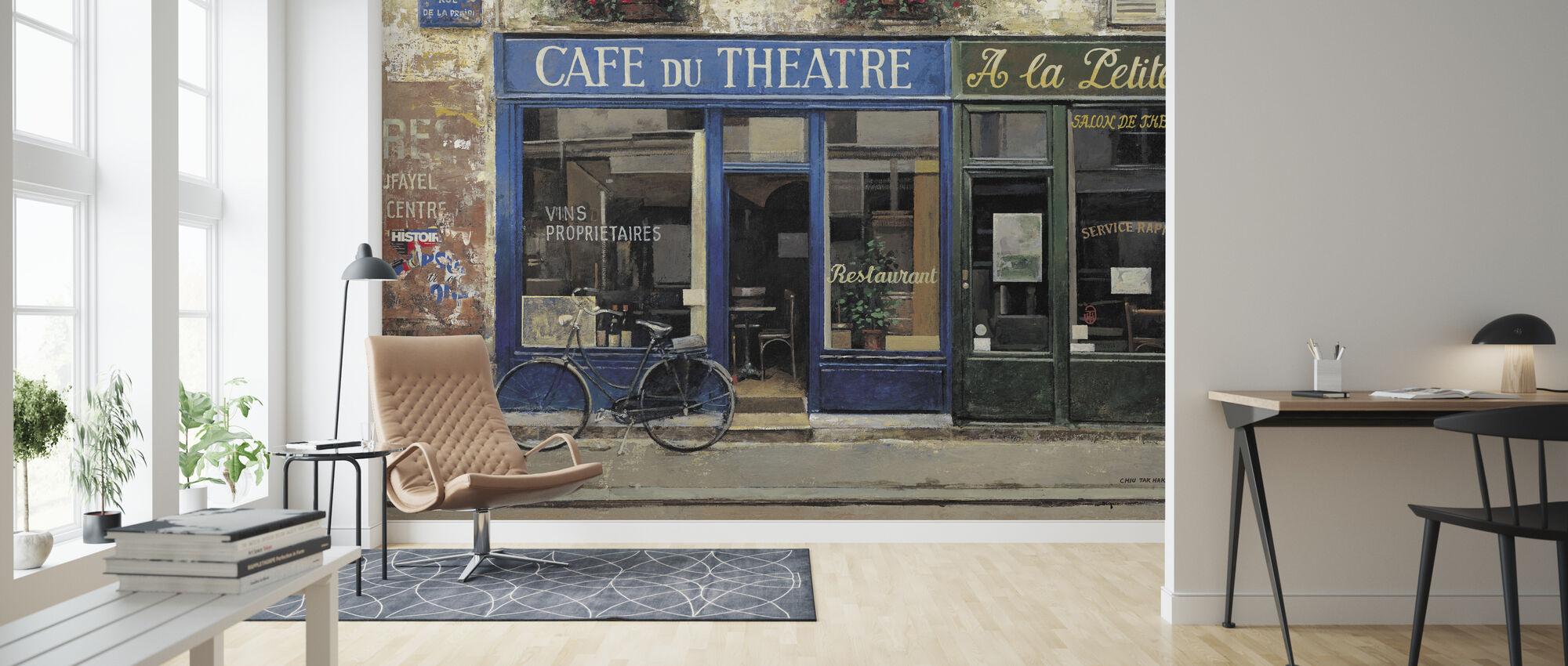 Cafe du teater - Tapet - Stue