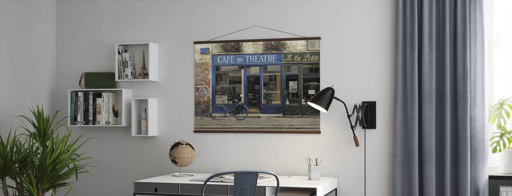 Cafe Du Theater - Poster - Office