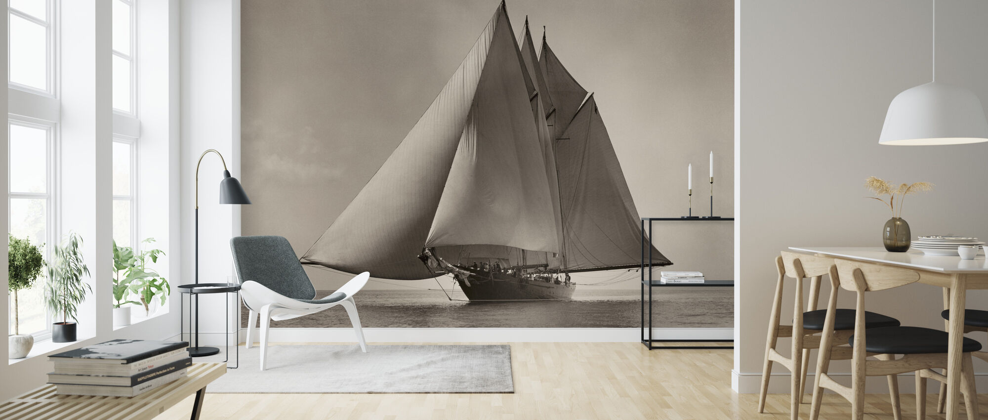 Atlantic 1916 - Wallpaper - Living Room