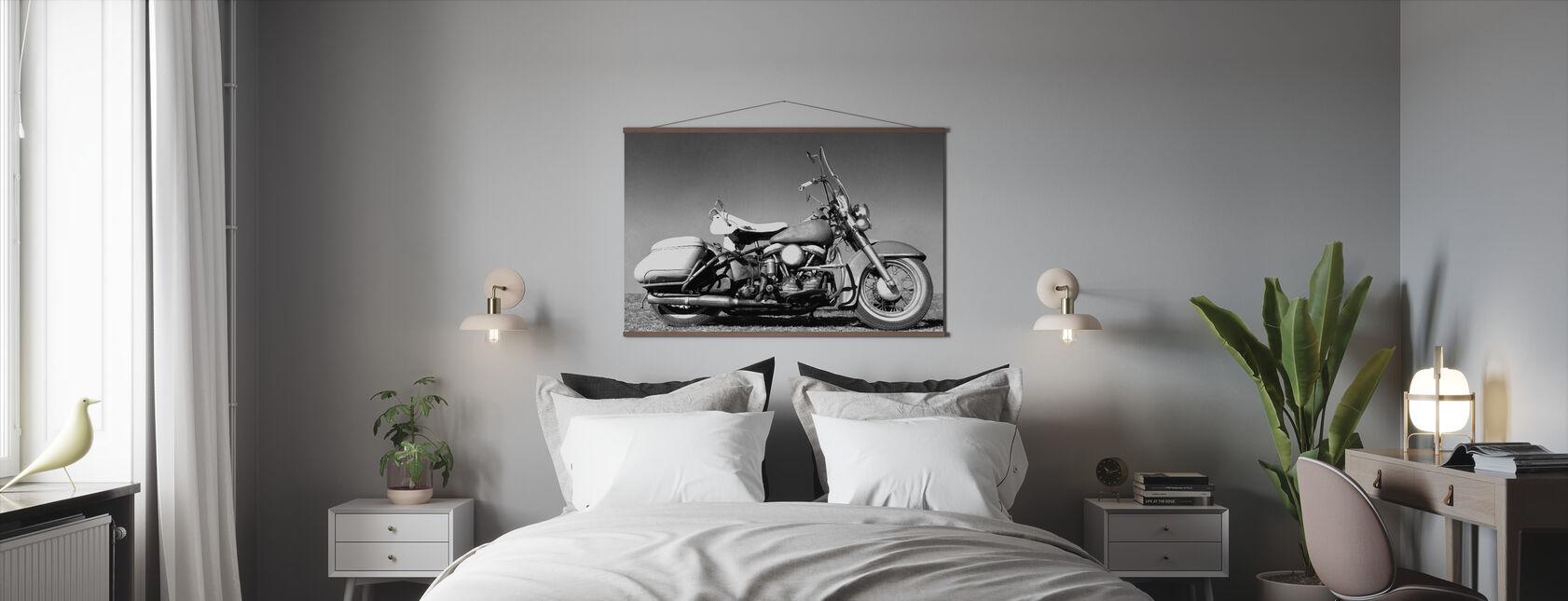 Gammal Harley - Poster - Sovrum
