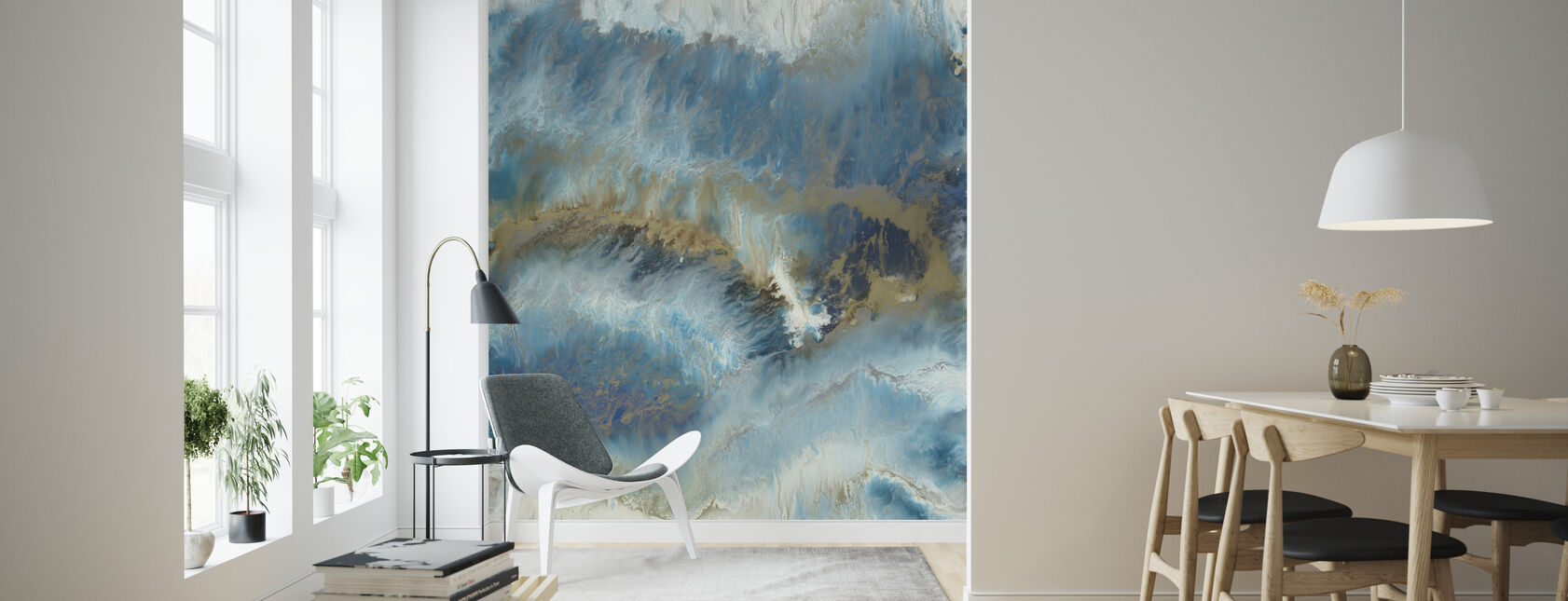 Into the Tide - Wallpaper - Living Room