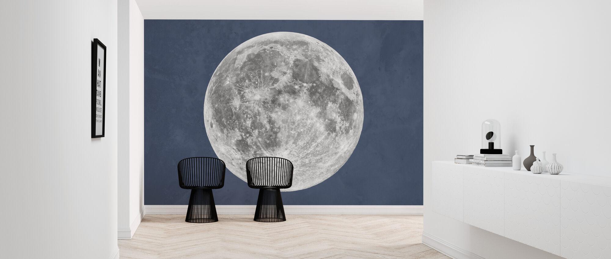 Blue Moon - Wallpaper - Hallway
