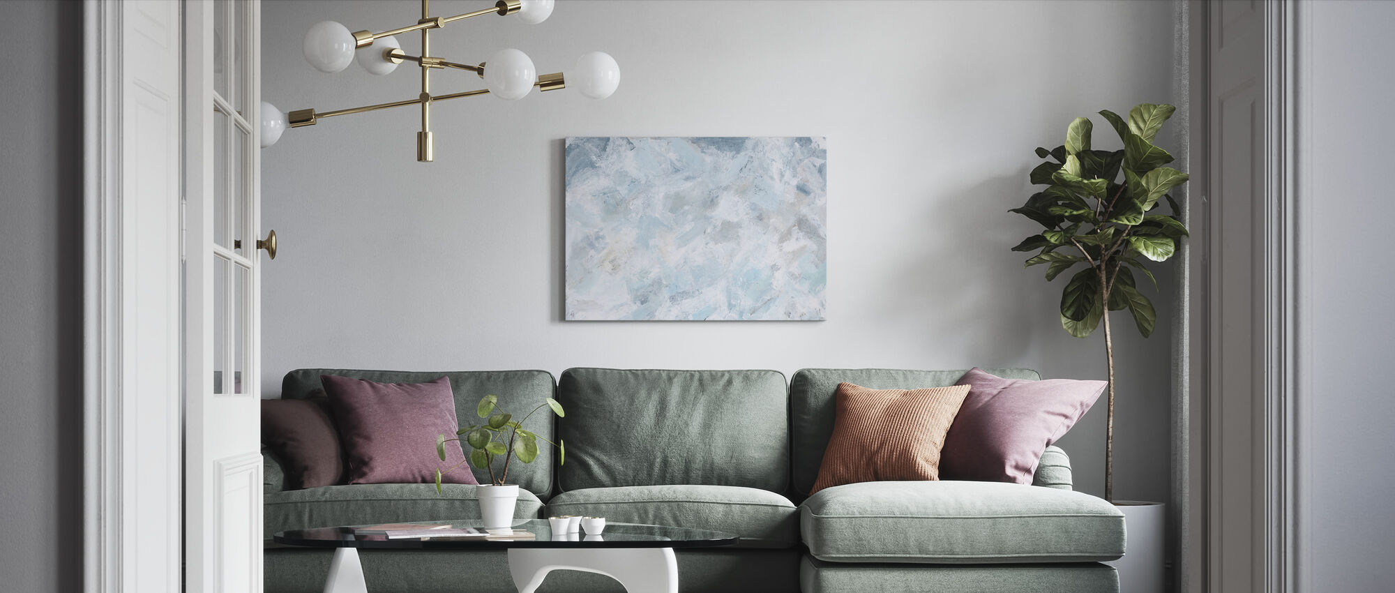 Serenity - Canvas print - Living Room