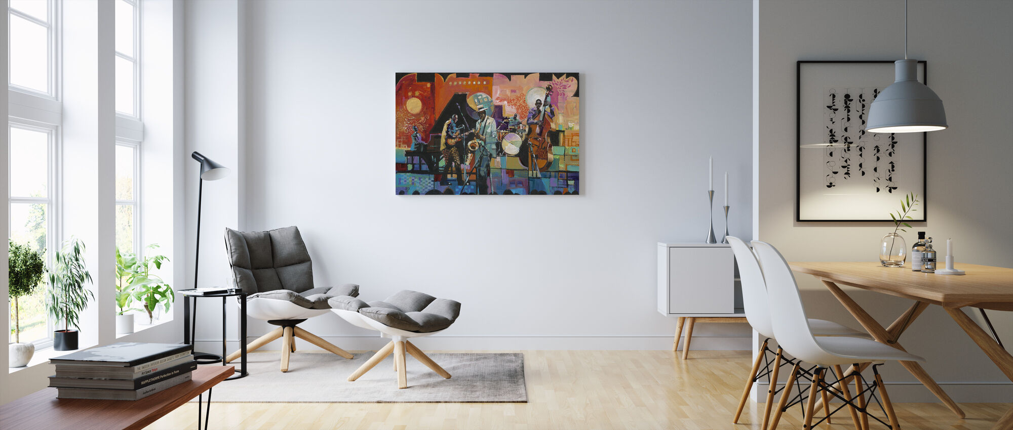 That Jazz - Canvas print - Living Room